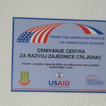 Оснивање Центра за развој заједнице
